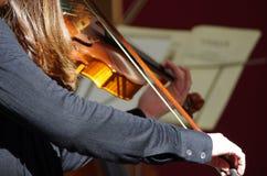 一个古典音乐会mucis 免版税库存图片