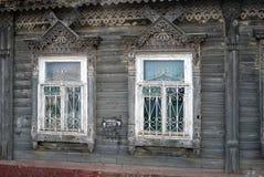 一个古国房子的Windows 库存图片