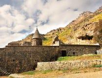 一个古老修道院的墙壁 库存照片
