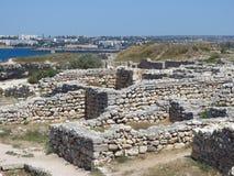 一个古老城市 免版税库存图片