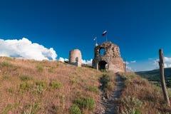 一个古老堡垒的废墟 库存图片