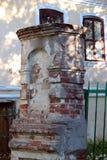 一个古老大厦的看法在俄罗斯 图库摄影