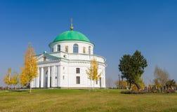 一个古老教会在乌克兰 免版税库存照片