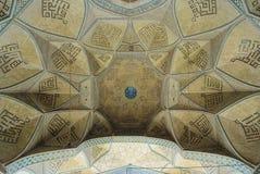 一个古老清真寺的圆顶 图库摄影