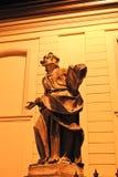 一个古老雕象 免版税库存照片