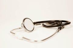 一个听诊器 库存照片