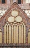一个哥特式大教堂的窗口 免版税库存图片