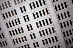 一个商业大厦的倾斜角视图 库存照片