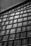 一个商业大厦的门面 免版税图库摄影