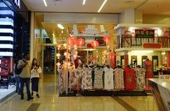 一个商城的内部在吉隆坡 库存照片