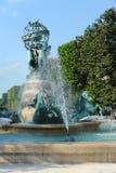 一个喷泉。 库存图片