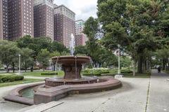 一个喷泉在芝加哥 免版税图库摄影