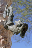 一个喷泉在辛特拉 免版税图库摄影