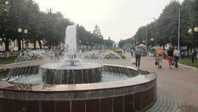 一个喷泉 库存照片