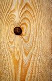 一个图的抽象形状在木头的 免版税图库摄影