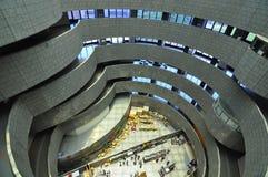 一个圆的大厦 免版税图库摄影