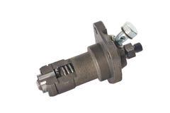 一个圆筒引擎的燃油泵 免版税图库摄影