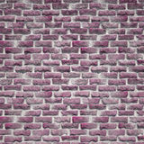 一个土气桃红色砖墙 库存图片