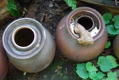 一个地方传统瓶子温泉的东南亚 免版税库存照片