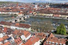 一个城市在德国 免版税库存照片