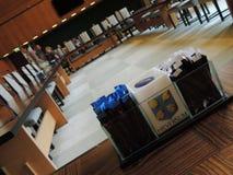 一个大会议室在希尔弗萨姆,荷兰,欧洲 库存照片