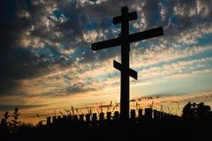 一个大十字架 免版税库存图片