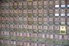 一个大小组老邮箱 免版税库存照片