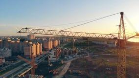 一个大建造场所的看法 实际概念的庄园 股票录像