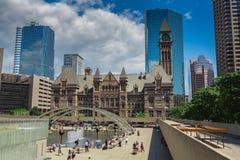 一个大教会在多伦多 免版税库存照片