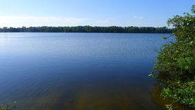 一个大湖 库存图片
