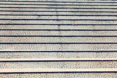 一个大白色马赛克楼梯的纹理 免版税库存照片