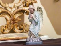 一个天使的雕象在Loreta,布拉格的 免版税库存图片