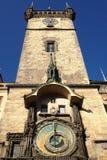 一个天文学钟楼立场 库存图片