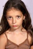 一个女孩的画象 免版税库存图片