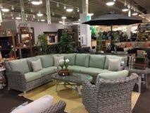 一个好的家具市场的内部 免版税库存照片
