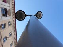 从一个好的角度摄制的美丽的灯笼 库存照片