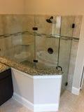 一个好的浴室在新房里 库存照片