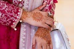 一个孟加拉国的回教婚礼 库存图片