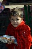 一个孩子的画象从叙利亚的 免版税库存图片