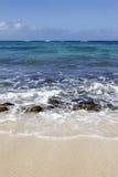 一个完善的海滩 图库摄影