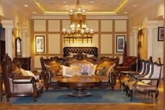 一个客厅 免版税库存照片