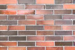 一个室外砖墙的纹理 免版税库存照片