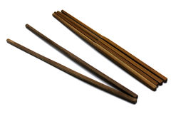 一个对筷子 库存照片