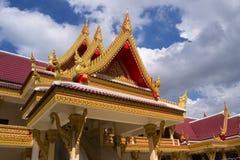 一个寺庙在泰国 库存照片