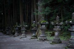 一个寺庙的入口在日本 库存图片