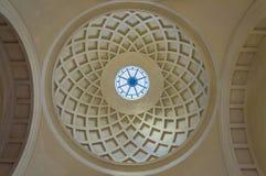一个小内部圆顶的细节 图库摄影