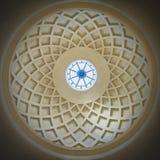 一个小内部圆顶的细节 免版税图库摄影