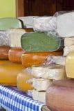 从一个小农场的乳酪 库存图片