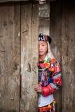 一个小女孩,种族的LOLO 免版税库存图片