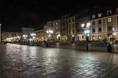 一个小市场在克拉科夫 免版税库存图片